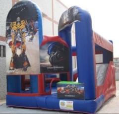 Transformer jumping castle combo