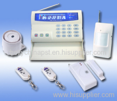 GSM Home Alarm System With LCD Color Display