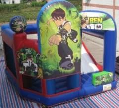Transformer bouncy castle