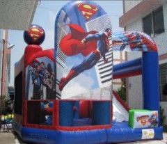 IC-632 Superman bouncy castle inflatables