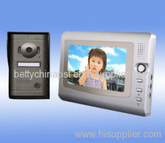 Waterproof Handfree Color Video Door Phone for Villa