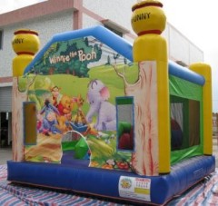 IC-642~644 Winnie the Pooh bouncy castle inflatables