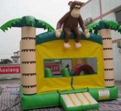 IC-647 Monkey bouncy castle, castle bounce