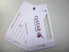 PVC Luggage Tag with Writting Area