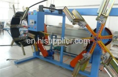 PE PP ABS plastic pipe extrusion line