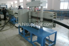 pe spiral pipe extrusion machine