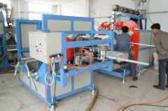 PE Hollow Wall Spiral Winding Pipe Extrusion Machine