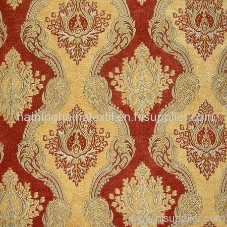 Jacquard Chenille Fabric For Sofa Curtain Or Upholstery