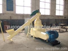 wood briquette press for biofuel