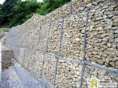 H exagonal gabion wall