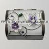 Butterfly Chest Style GlassTrinket Box