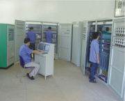 Workshop of electriacl equipment