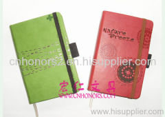 Notebooks with elastic band