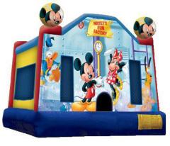 Mickey's Fun Factory Bouncer