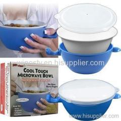 cool touch microwave bowl as seen on tv