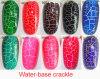 Crackle nail polish (water-based)