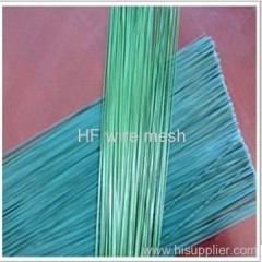 colored PVC coated cut wire
