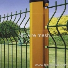 PVC coated airport fence