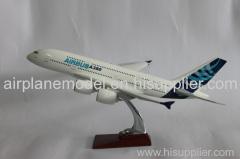 resin aircraft model Airbus380 36cm