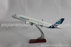 resin aircraft model Airbus320 37cm