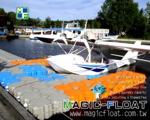 Floating Dock for Seaplane