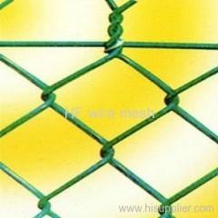 PVC chain link mesh