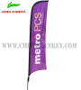 beach flag banner with display stand pole and water bag