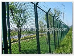 PVC Coated Chain link fence Netts