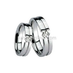 Superior Unique Forever Tungsten Wedding Rings Set   Free Shipping