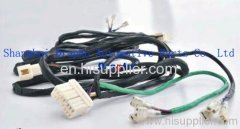 Auto sunroof wire assembly