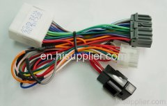 Alarm system wire harness