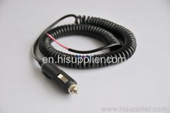 spring coil wire harness