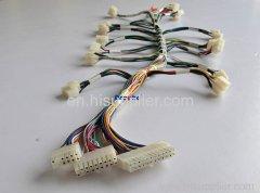 Game machine wire harness