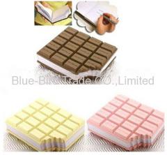 Chocolate Sticky Note Pads