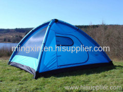 Pup up family camping tent