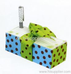 Promotion memo cube with pen holder-CG001