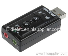 Virtual 7.1 SOUND USB CMedia sound card