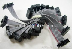 Flat cable wire harness