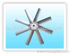 Aluminum axial flow impeller