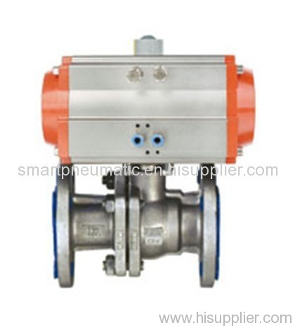 JM Ball Valve (Pneumatic Flange Type)