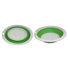 TPR Foldable Colander Oval Shape