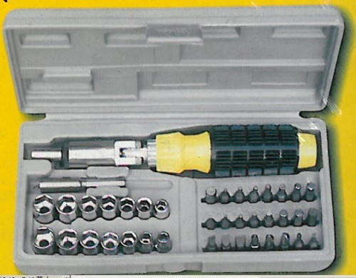 41pcs Bit and Socket Set