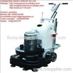stone floor grinding machine