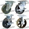 medium duty cast iron caster