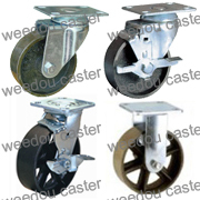 caster castor medium duty heavy duty wheel cast iron