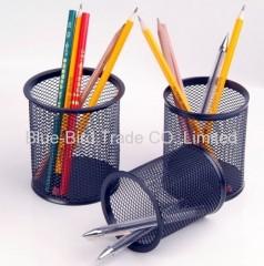 mesh organizer pen holder
