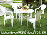plastic beach chair and table mould