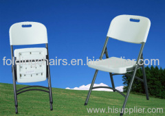 Folding Outdoor Steel Plastic Chair KLY-A3