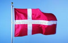 Out door Danish flag