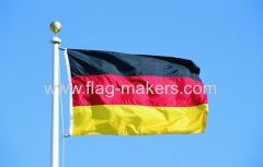 out door German Flag